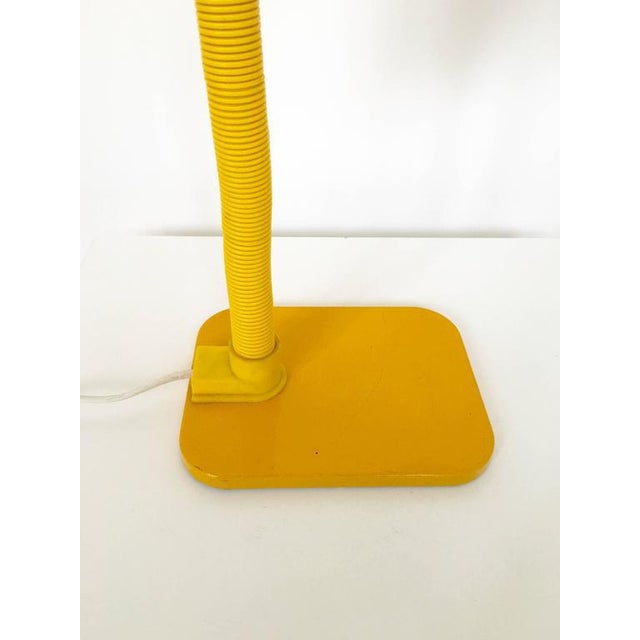 French Yellow Desk Lamp - Image 10 of 10