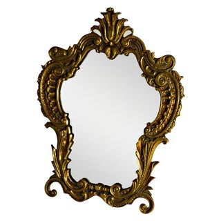 Antique Victorian Ornate Table Mirror For Sale