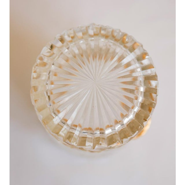 Antique French Cut Crystal Trinket Box For Sale - Image 10 of 10