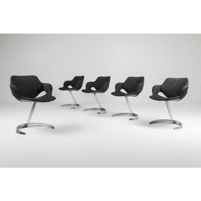 Mid-Century Modern Boris Tabaccof Dining Chairs For Sale - Image 3 of 10