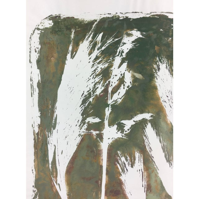 Abstract English Abstract Painting - Modern Grass For Sale - Image 3 of 4