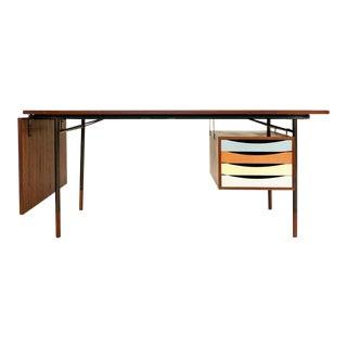 1950s Scandinavian Modern Finn Juhl Teak Writing Desk For Sale