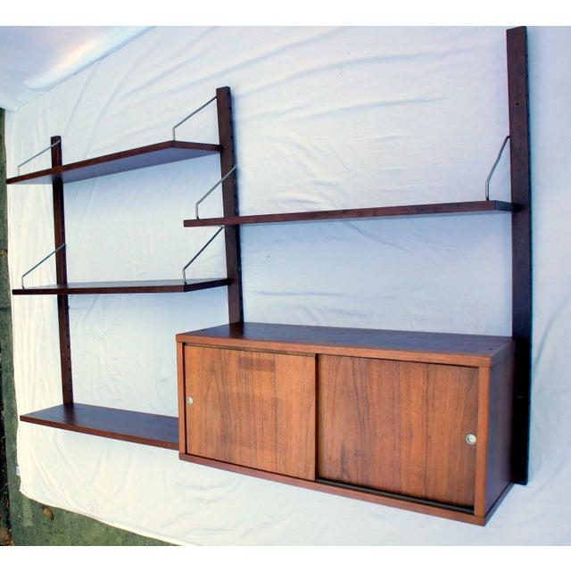 Teak 1960s Vintage Poul Cadovius Cado Royal System Wall Unit For Sale - Image 7 of 7