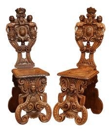 Image of Italian Corner Chairs