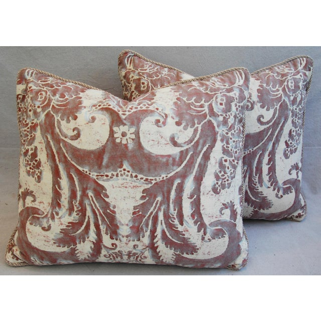 Mariano Fortuny Glicine & Mohair Pillows - A Pair - Image 2 of 10