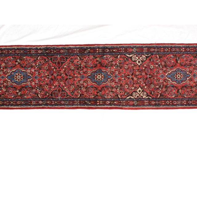Wool pile hand made Persian Tafresh runner in excellent condition.