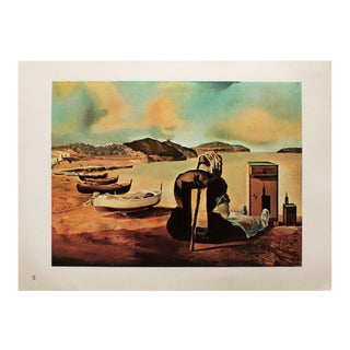 """1957 Salvador Dali, """"The Weaning of Furniture Nutrition"""" Large Original Period Photogravure For Sale"""