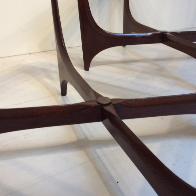 Glass 1950s Lane Side Tables - a Pair For Sale - Image 7 of 10