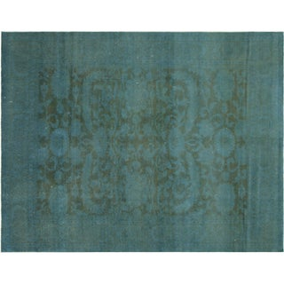 "Nalbandian - Contemporary Egyptian Overdyed Rug - 7'9"" X 9'11"" For Sale"