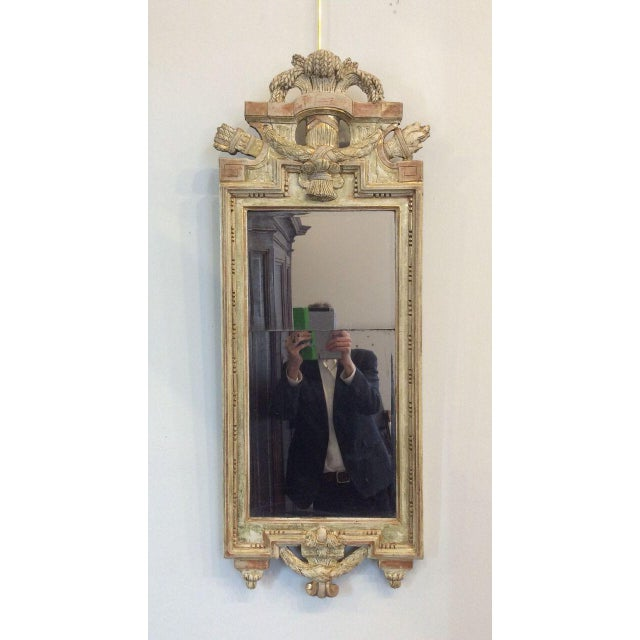 Late 18th Century 18th Century Swedish Gustavian Mirror by Nicolas Meunier For Sale - Image 5 of 5