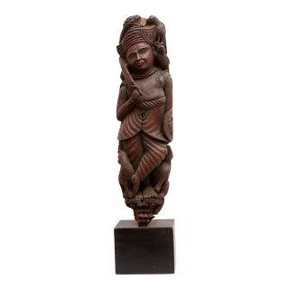Antique Indonesian Sculpture For Sale