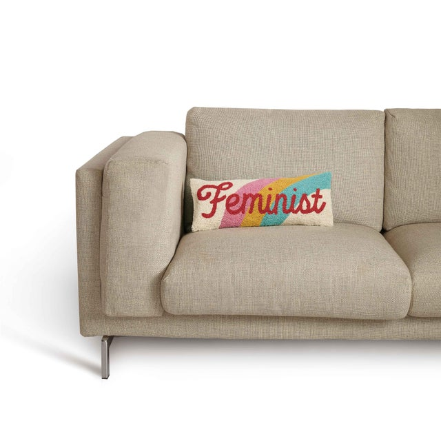 Feminist Hook Pillow