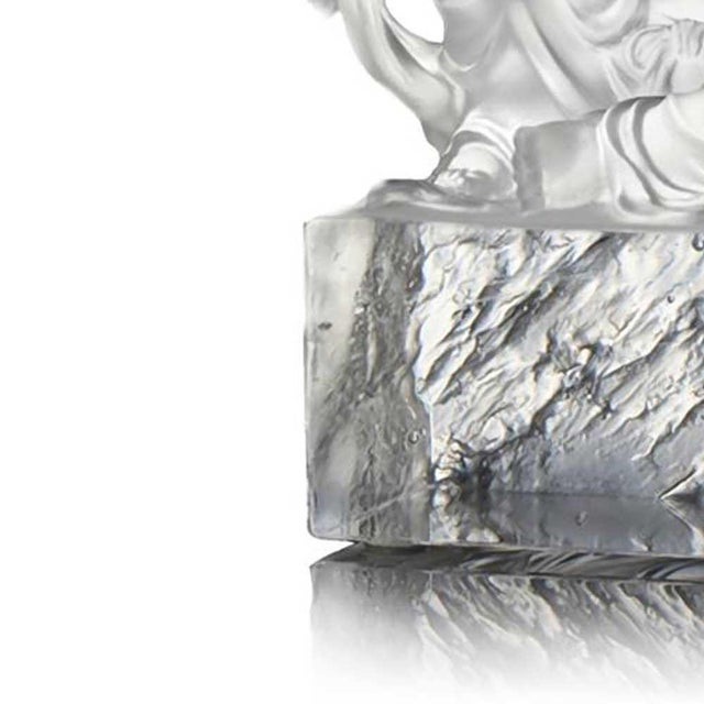 2020s Liuli Crystal Art Crystal Guanyin (Limited Edition) For Sale - Image 5 of 7