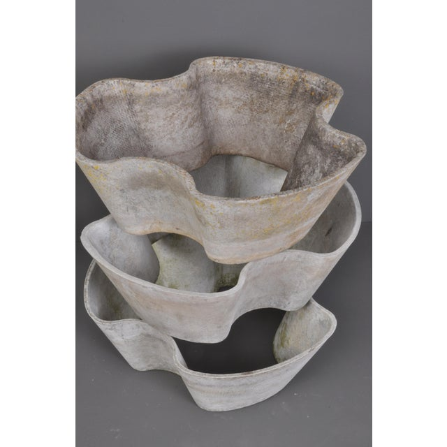"""1960s """"Semiramis"""" Stackable Jardiniere by Eternit, Switzerland, 1960s For Sale - Image 5 of 11"""