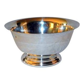 Mid 20th Century Bristol Silver Paul Revere Bowl For Sale