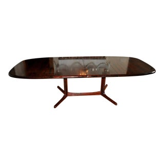 1960s Danish Modern Rosewood Dining Table