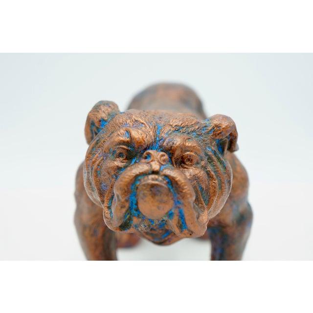 Mid-Century Modern Bulldog Statue For Sale - Image 4 of 8