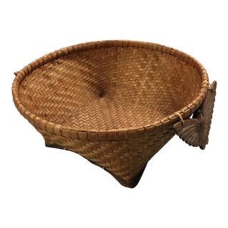 1970s Rosenthal Netter Tribal Basket For Sale