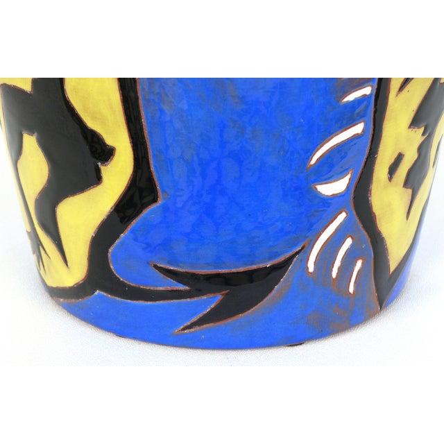Jean Lurçat French Mid-Century Ceramic Vase 22/50 For Sale In Miami - Image 6 of 13