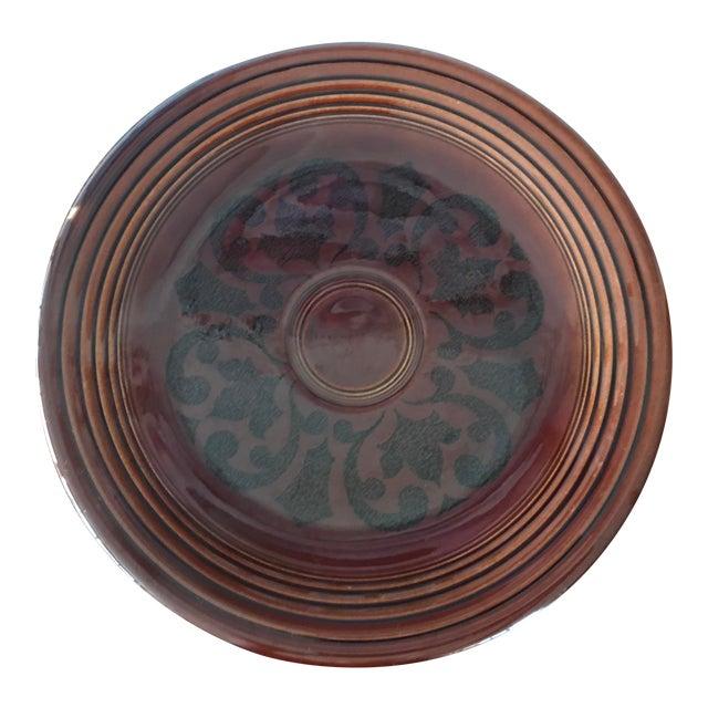 Homer Laughlin Amberstone Serving Platter For Sale