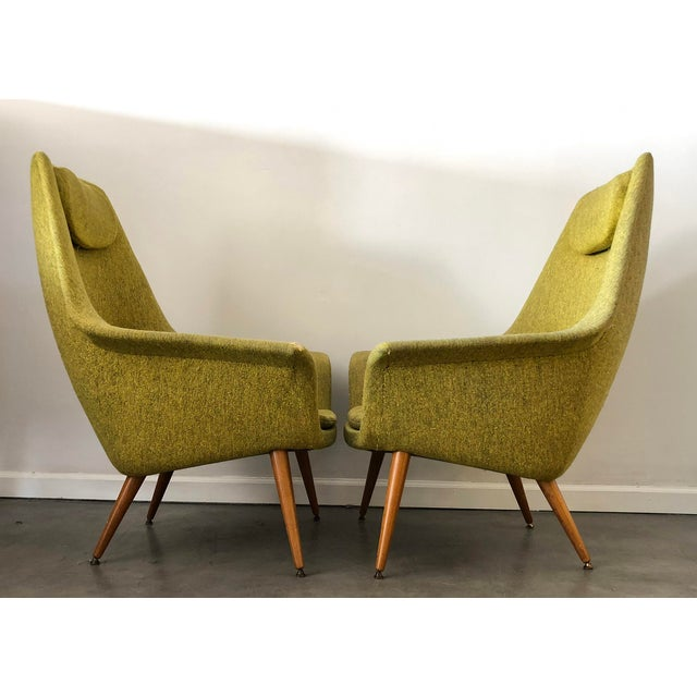1950s Torbjorn Adfal Butterfly Chairs, a Pair For Sale - Image 5 of 9