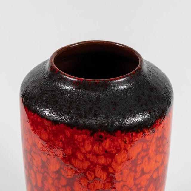 Mid-Century Modern Mid Century Glazed Pottery Vase For Sale - Image 3 of 6