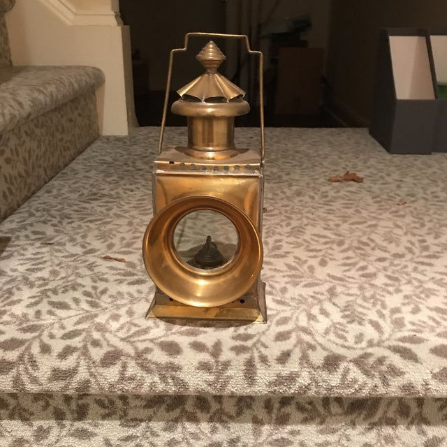 Solid Brass Oil Lantern - Image 5 of 5