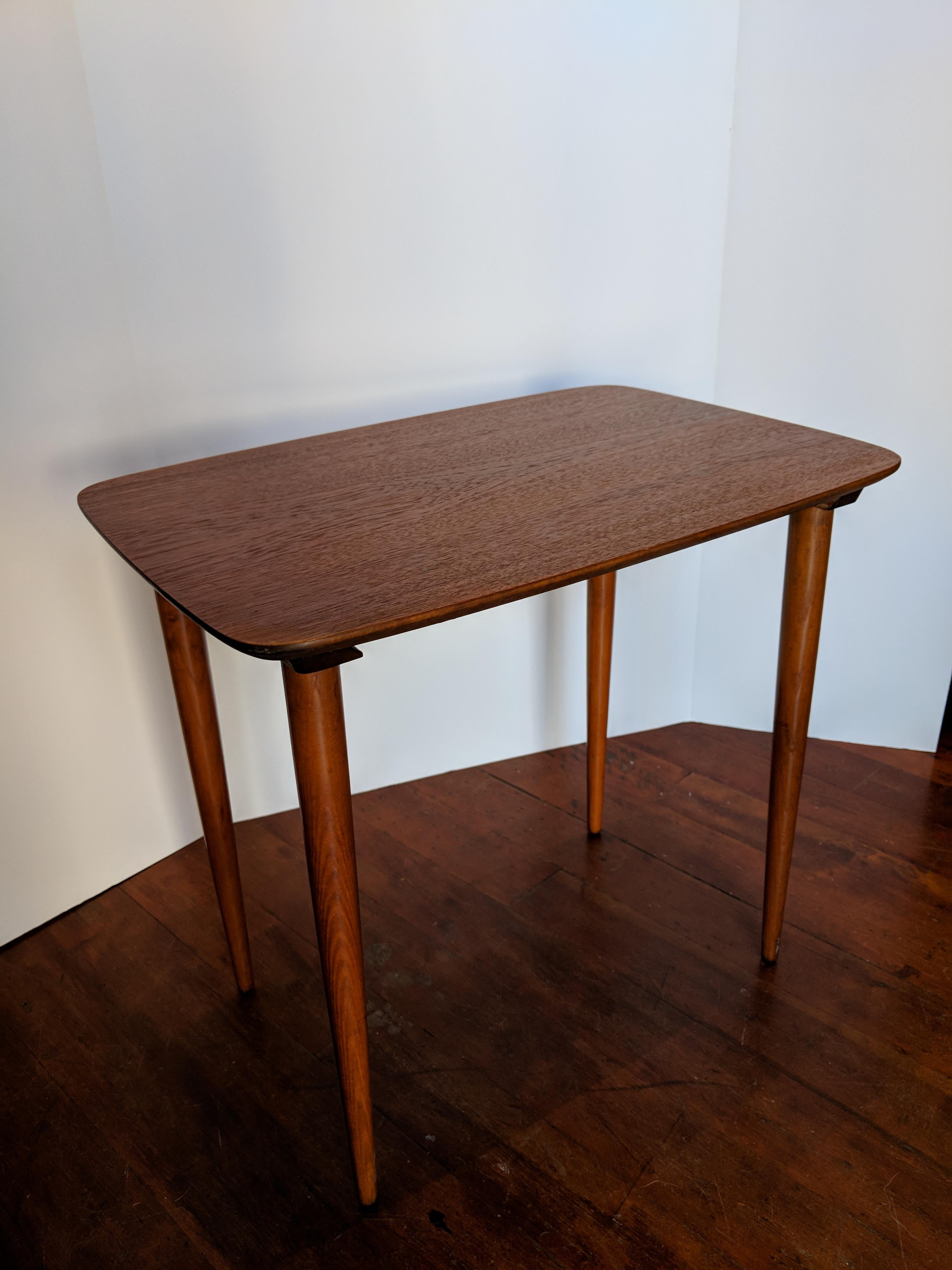 Vintage Mid Century Nesting Tables   Set Of 3   Image 4 Of 9