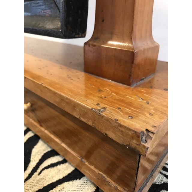 19th Century Biedermeier Shaving Stand For Sale - Image 4 of 11