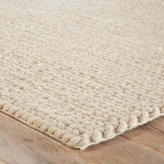 Jaipur Living Braiden Handmade Solid Gray Area Rug - 5′ × 8′ Preview