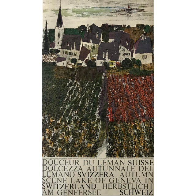 Date: 1960s Size: 13.75 x 24.25 inches Artist: Wetli, Hugo About The Poster: This poster, part of series designed to...