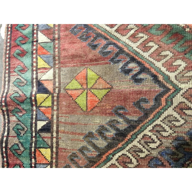 "Vintage Bellwether Rugs Turkish Oushak Rug - 5' x 9'3"" - Image 9 of 10"