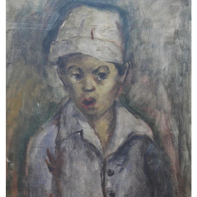 Chinese-American artist, George Chann (1913-1995). George Chann was born in the Chung-shan village of Canton, China. He...