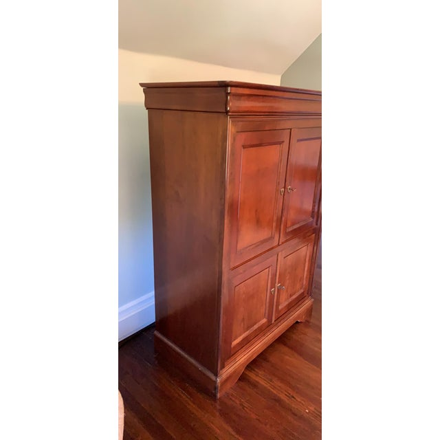 1990s 1990s Grange French Entertainment Armoire / Tv Stand For Sale - Image 5 of 9