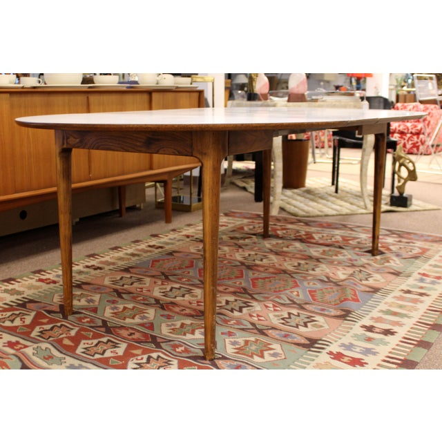 1960s Mid Century Modern Lawrence Peabody Craft Assoc.Dining Table & 6 Side Chairs - Set of 7 For Sale - Image 5 of 13