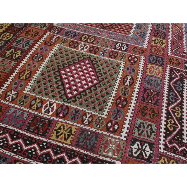 Textile Superb Antique Bayburt Kilim For Sale - Image 7 of 10