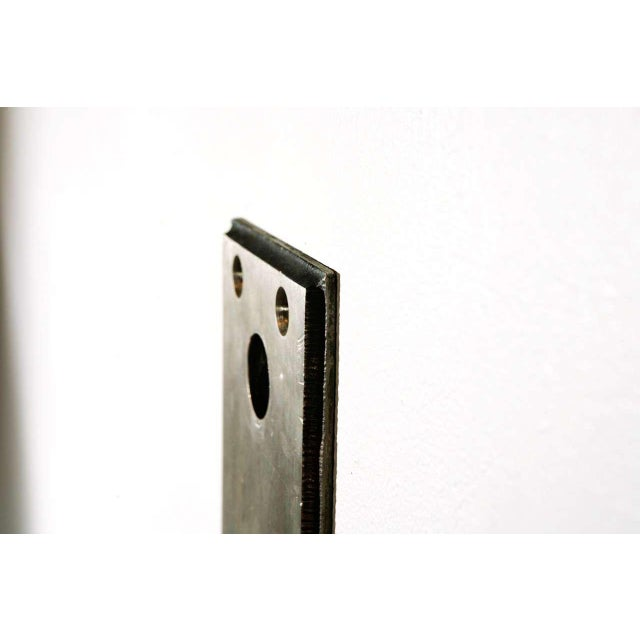 Cast Nickel-Plated Doorplates For Sale - Image 4 of 6