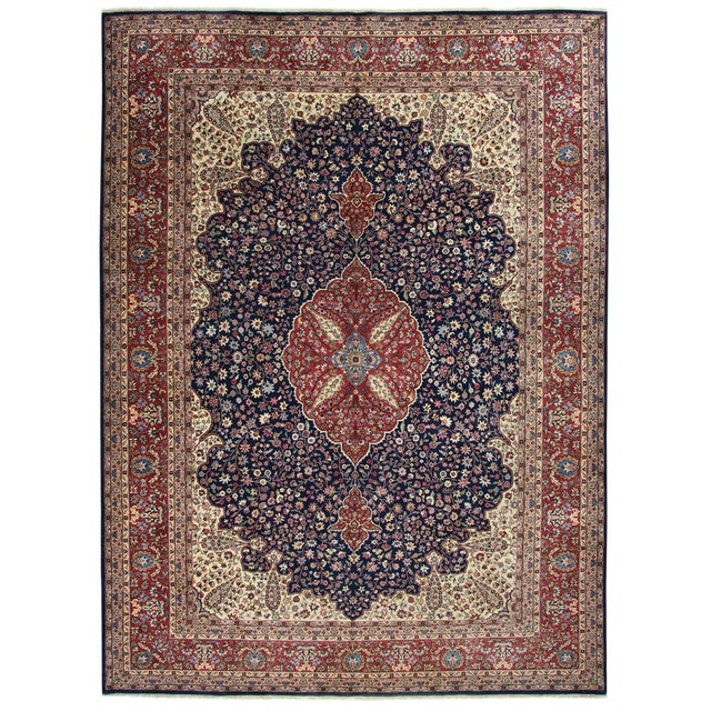 "Traditional Kayseri Carpet - 7'9"" x 10'11"" - Image 1 of 5"
