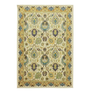 """One-of-a-Kind Contemporary Hand-Knotted Area Rug 6' 1"""" x 8' 10"""" For Sale"""