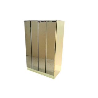 Small Ello Bronze Mirrored Cabinet