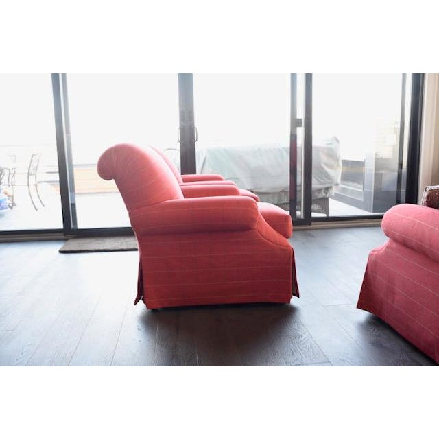 2010s Modern Transitional Sherrill Custom Made Chairs - A Pair For Sale - Image 5 of 6