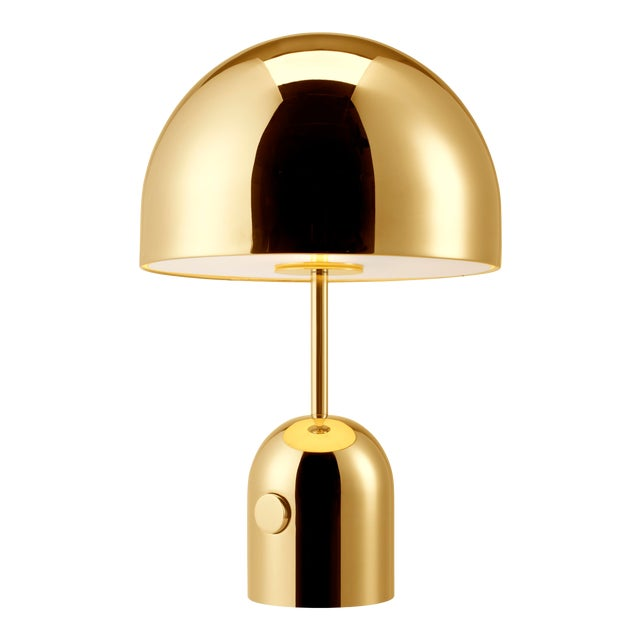 Tom Dixon Bell Table Light Brass For Sale