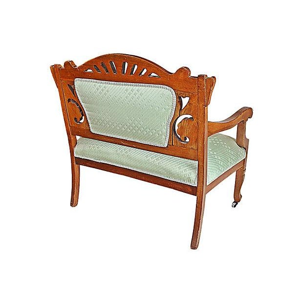 Antique Eastlake Style Settee - Image 6 of 6