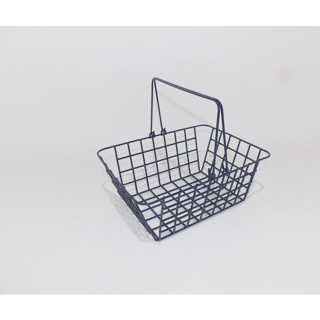 Wire Mesh Bathroom Toiletries Basket For Sale - Image 4 of 6