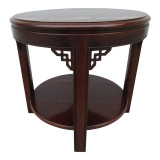 Round Drexel Side Table -Chippendale Series