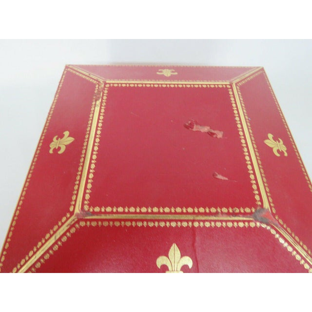 Remy Martin Louis XIII Empty Baccarat Crystal Cognac Bottle Box Set For Sale - Image 4 of 11