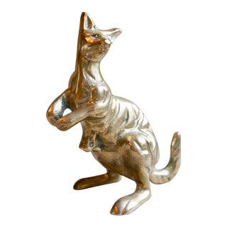 Brass Kangaroo Figurine For Sale