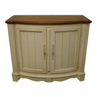 Ethan Allen Legacy Collection White Painted Server For Sale