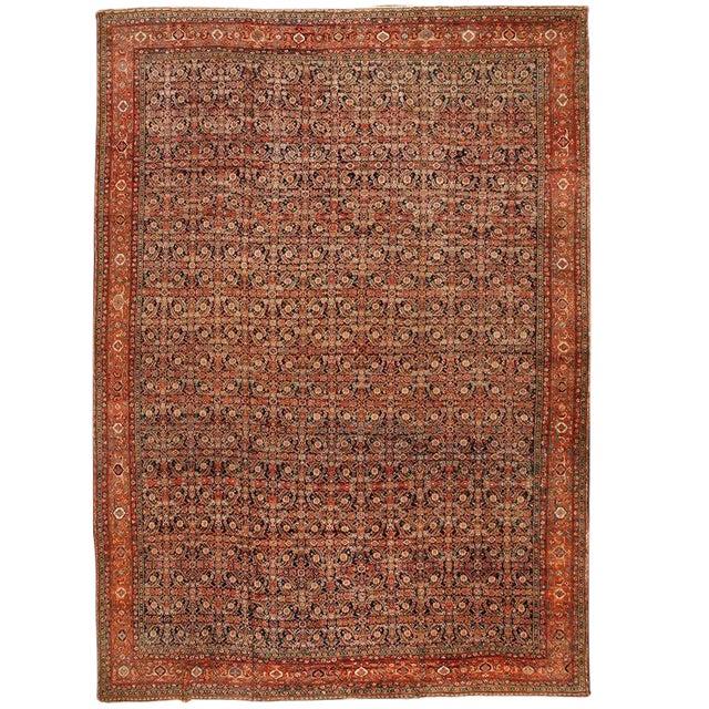 Exceptional Antique 19th Century Persian Fereghen Carpet - Image 1 of 2