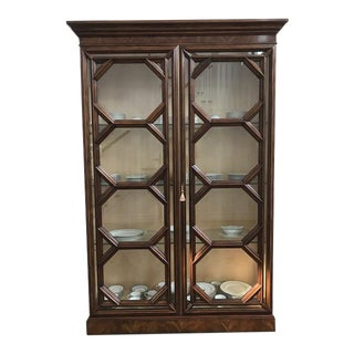 Theodore Alexander Cabinet With 2 Glass Doors